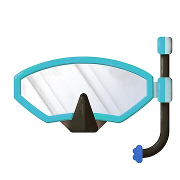 Snorkel mask by franciscomartns
