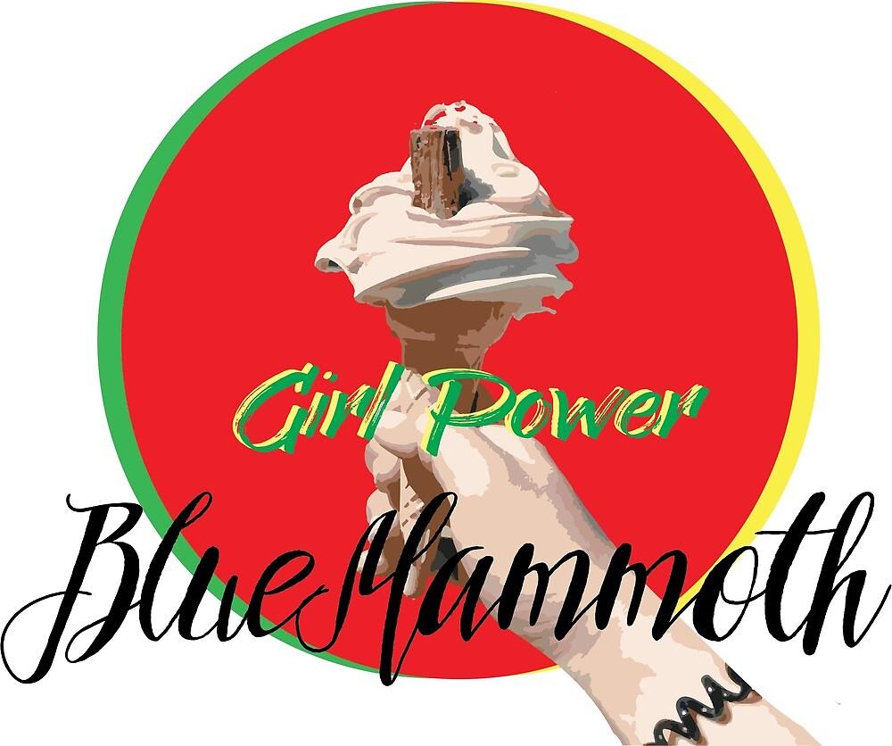 Ice Cream Girl Power BlueMammoth by BlueMammoth