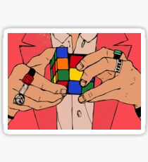 harry styles rubiks cube Sticker