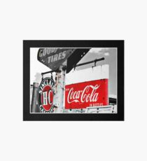 Coca Cola Sign Art Board