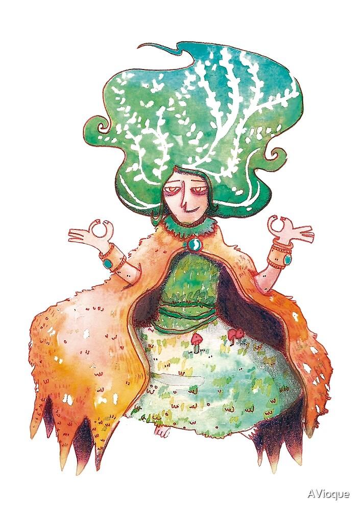 Mushroom salad by AVioque