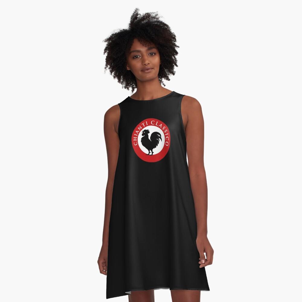Black Rooster Chianti Classico A-Line Dress