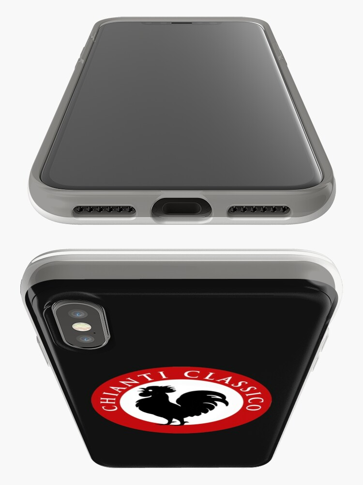 Alternate view of Black Rooster Chianti Classico iPhone Case & Cover