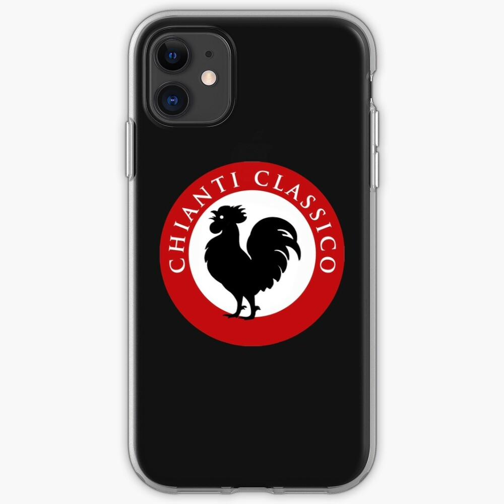 Black Rooster Chianti Classico iPhone Case & Cover