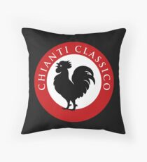 Black Rooster Chianti Classico Throw Pillow