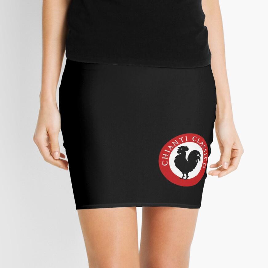 Black Rooster Chianti Classico Mini Skirt