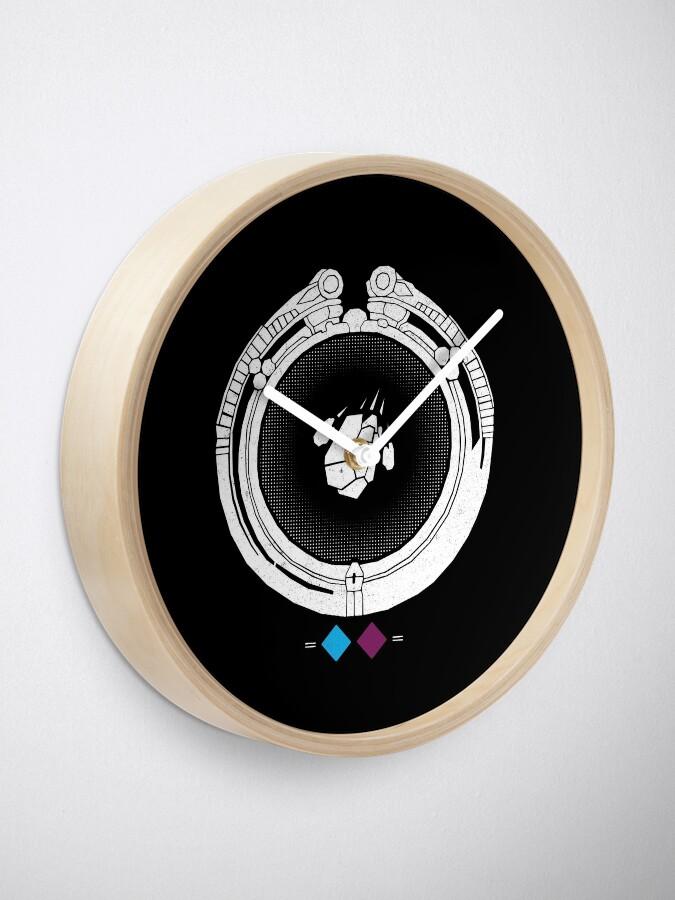 Alternate view of Gideon Clock