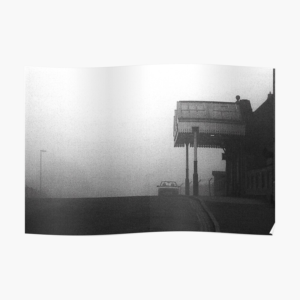 Great Central Fog Poster