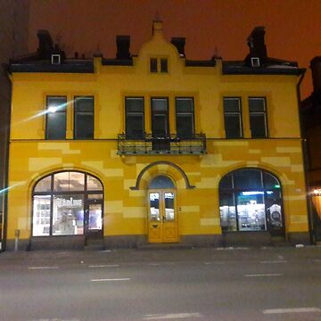 Yellow Building  by 3pplewood