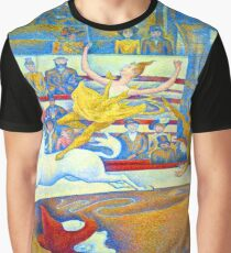 Georges Seurat Le Cirque Graphic T-Shirt
