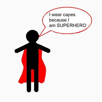 SUPERHERO by rOBsTEEDMAN