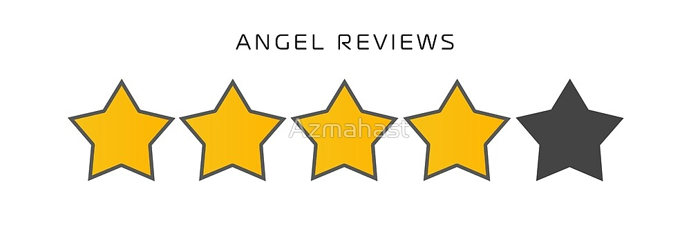 Angel Reviews Star Icons by Azmahast