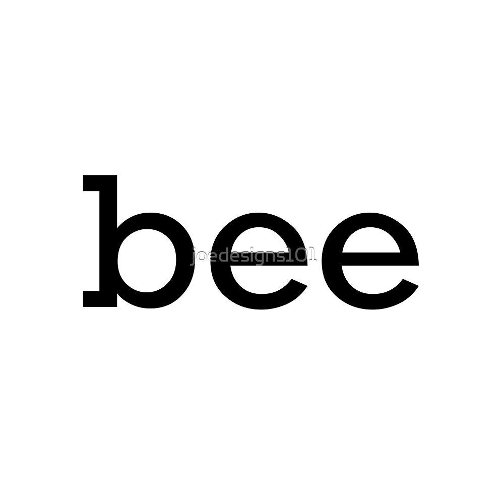 Bee text by joedesigns101