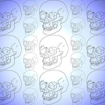 Skulls  by JordanHughbanks