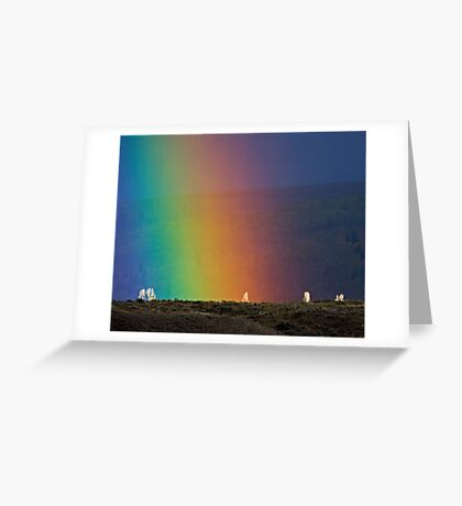 Rainbow Air, Ghost Trees Greeting Card