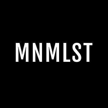 MNMLST, Minimalist black version by beakraus