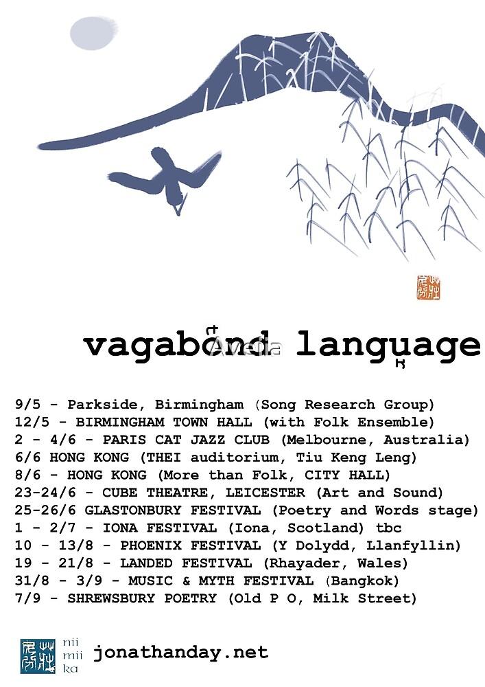 Jonathan Day Vagabond Language Tour by Aveiia