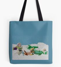 I thought they smelled bad on the outside! Tote Bag