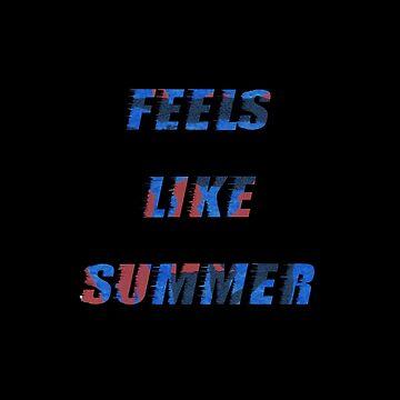 Childish Gambino Feels Like Summer logo by eightyeightjoe
