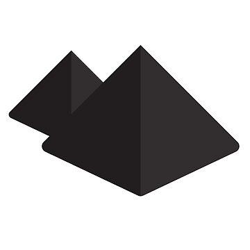 Black pyramids by Tjaelfe