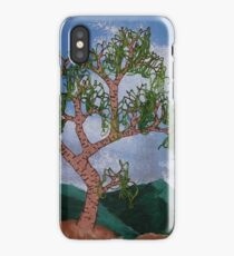 Hanging leaves iPhone Case