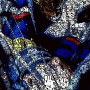 All Might - Boku no Hero Academia | My Hero Academia by QShiro