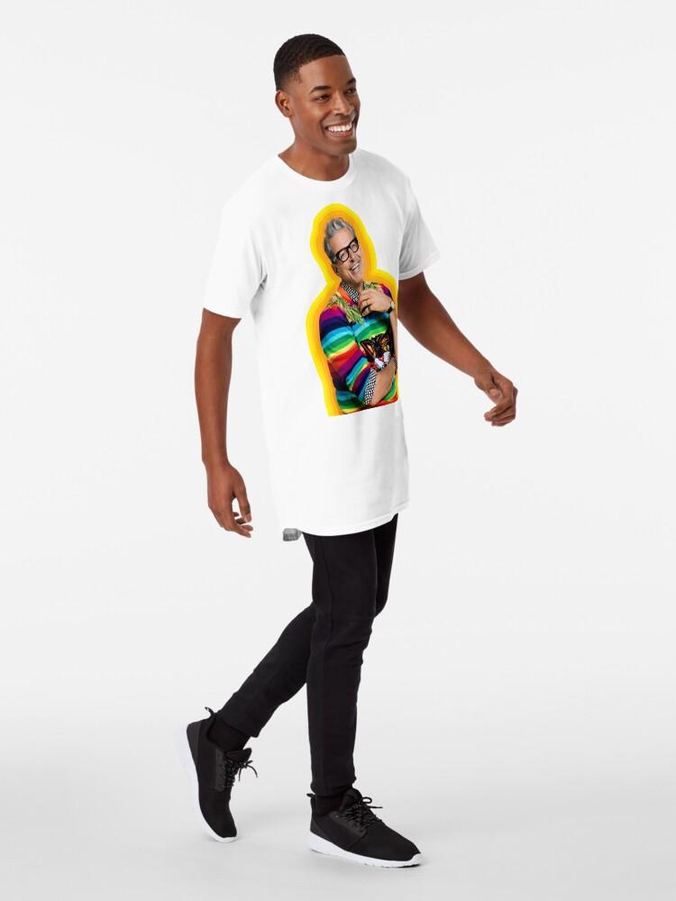 Vista alternativa de Camiseta larga Jeff Goldblum de la felicidad