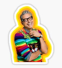 Jeff Goldblum of Happiness Sticker
