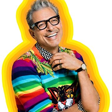 Jeff Goldblum de la felicidad de LaurenTheLyon