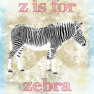 Z is for Zebra by evisionarts