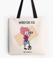 2018 World Cup - France flag Tote Bag