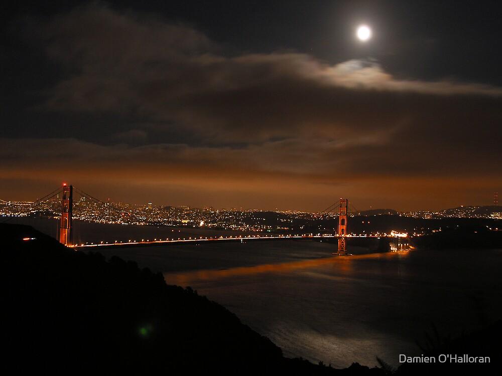 The Golden Gate Bridge by Damien O'Halloran