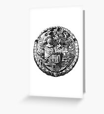 Genetti Coat-of-Arms (Stemma) Greeting Card