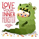 Love your inner monster  by shizayats