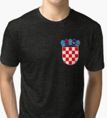 Croatia coat of arms Tri-blend T-Shirt