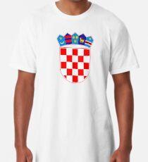 Croatia coat of arms Long T-Shirt