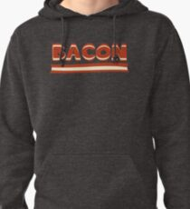 Keto Bacon Funny Gift - Ketogenic Humor Pullover Hoodie