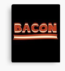 Keto Bacon Funny Gift - Ketogenic Humor Canvas Print
