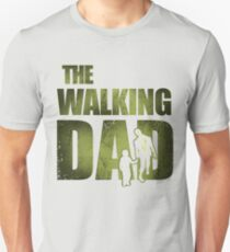 Walking Dad Shirt Daddy Gifts for Christmas Funny Dad Shirts Unisex T-Shirt