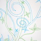 blue & green by Sarah Cook