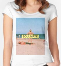 Soulmate - Justin Timberlake Women's Fitted Scoop T-Shirt