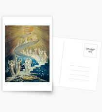 HD Jacob's Ladder, by William Blake HIGH DEFINITION Postcards