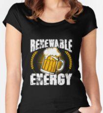 Renewable Beer Energy Women's Fitted Scoop T-Shirt