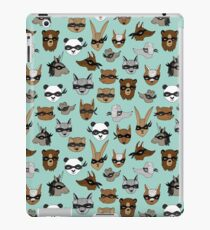 Bandit Animals by Andrea Lauren  iPad Case/Skin