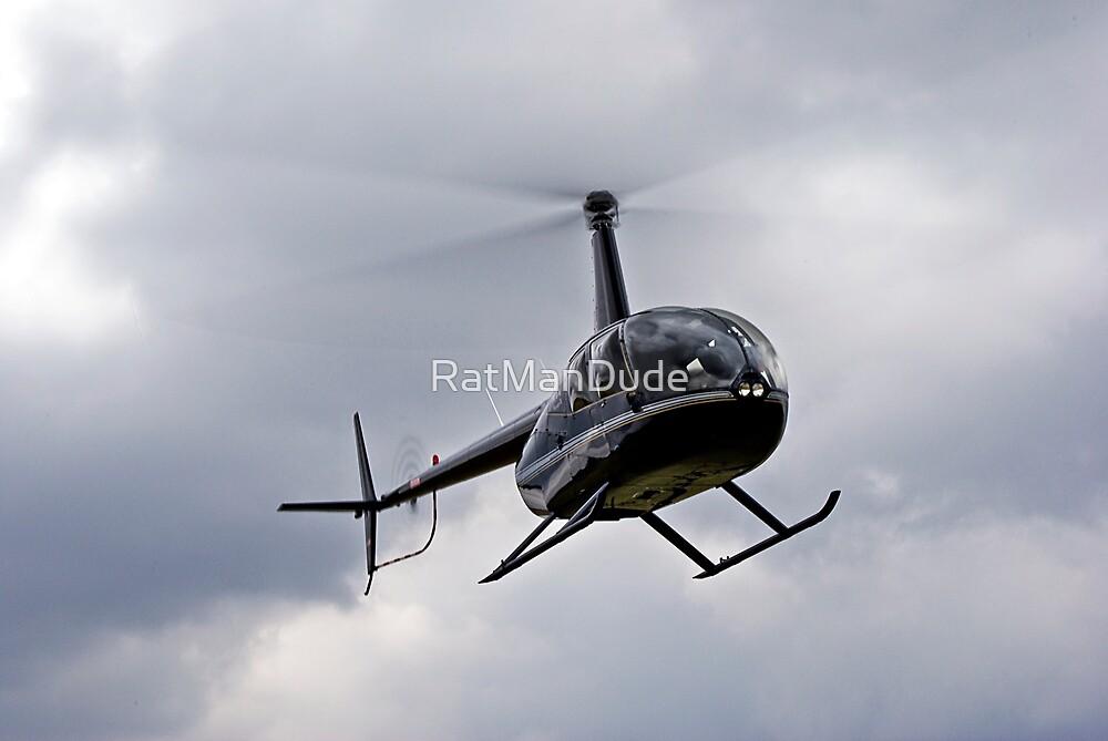 Robinson R44 by RatManDude