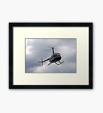 Robinson R44 Framed Print