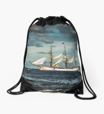Europa Tall Ship Drawstring Bag