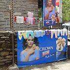 Pokhara washing line by shireengol
