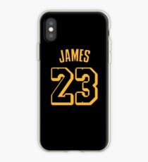 LeBron James Lakers Hollywood Jersey iPhone Case