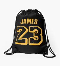 Mochila saco LeBron James Lakers Hollywood Jersey
